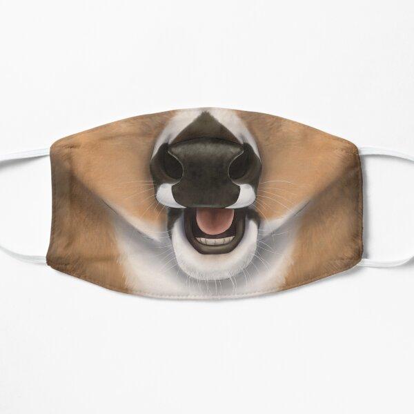 Whitetail Deer Face Flat Mask