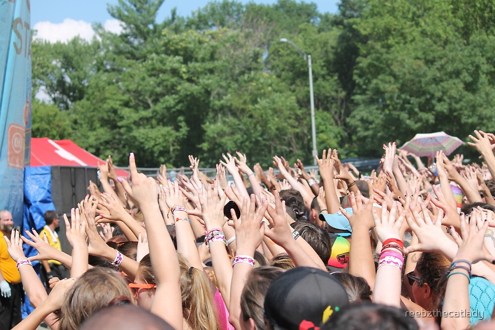 3oh!3 crowd (1) by reebzthecatlady