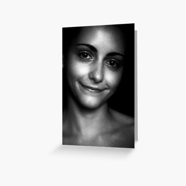 Pia Miranda - simple beauty - 2002 Greeting Card