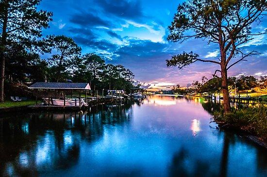 sunset blues by ALEX GRICHENKO
