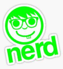 nerd clothing Sticker