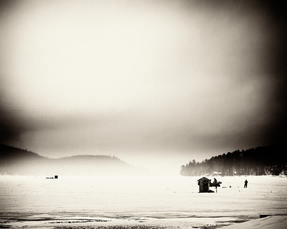 Ice Fishing During a Storm by Nazareth