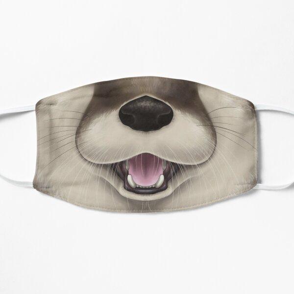 Otter Face Flat Mask