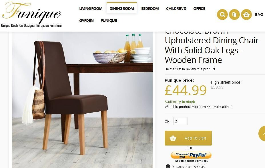 Buy solid oak furniture online at funique by joseph002