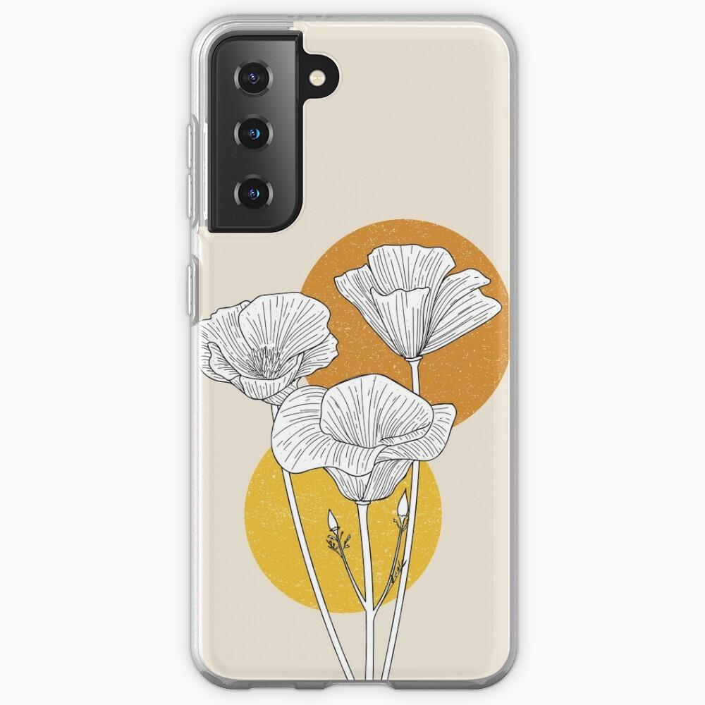 California Golden Poppies Case & Skin for Samsung Galaxy