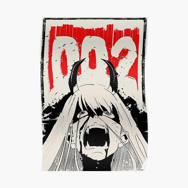 Zero Two Japanese Ink ゼ ロ ツ ー Póster