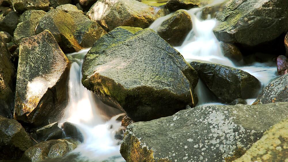 Slipping through the Rocks by Josh Stokka