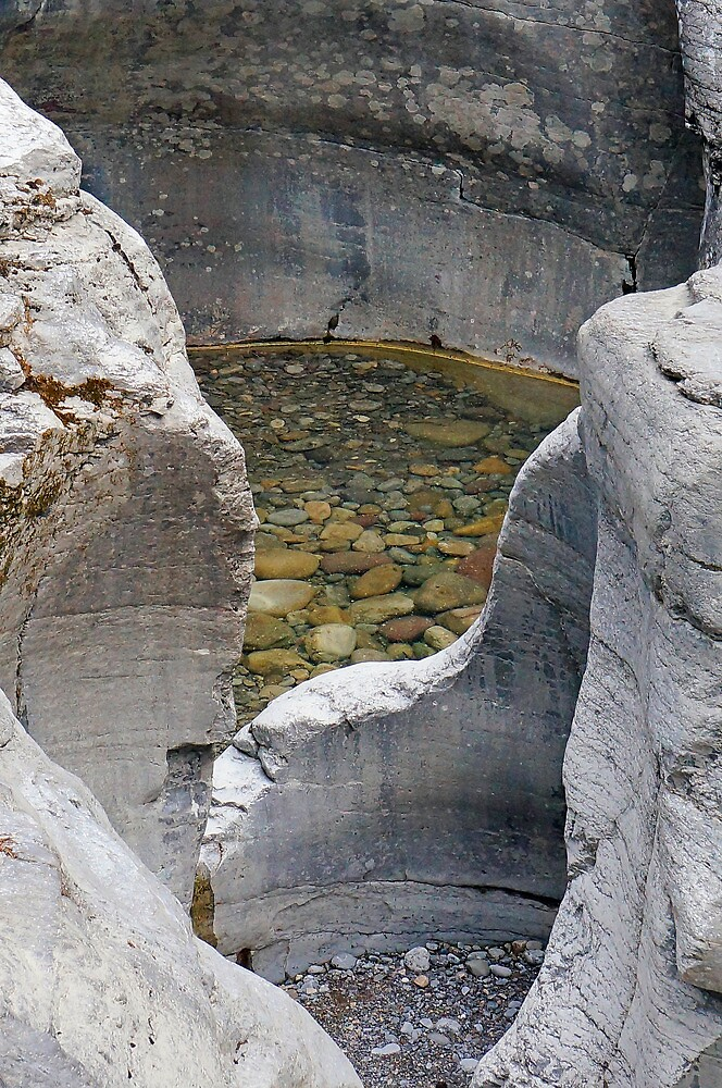 Rockpool, Jasper NP by Harry Oldmeadow