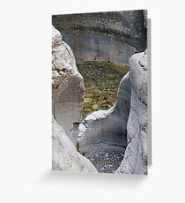 Rockpool, Jasper NP Greeting Card