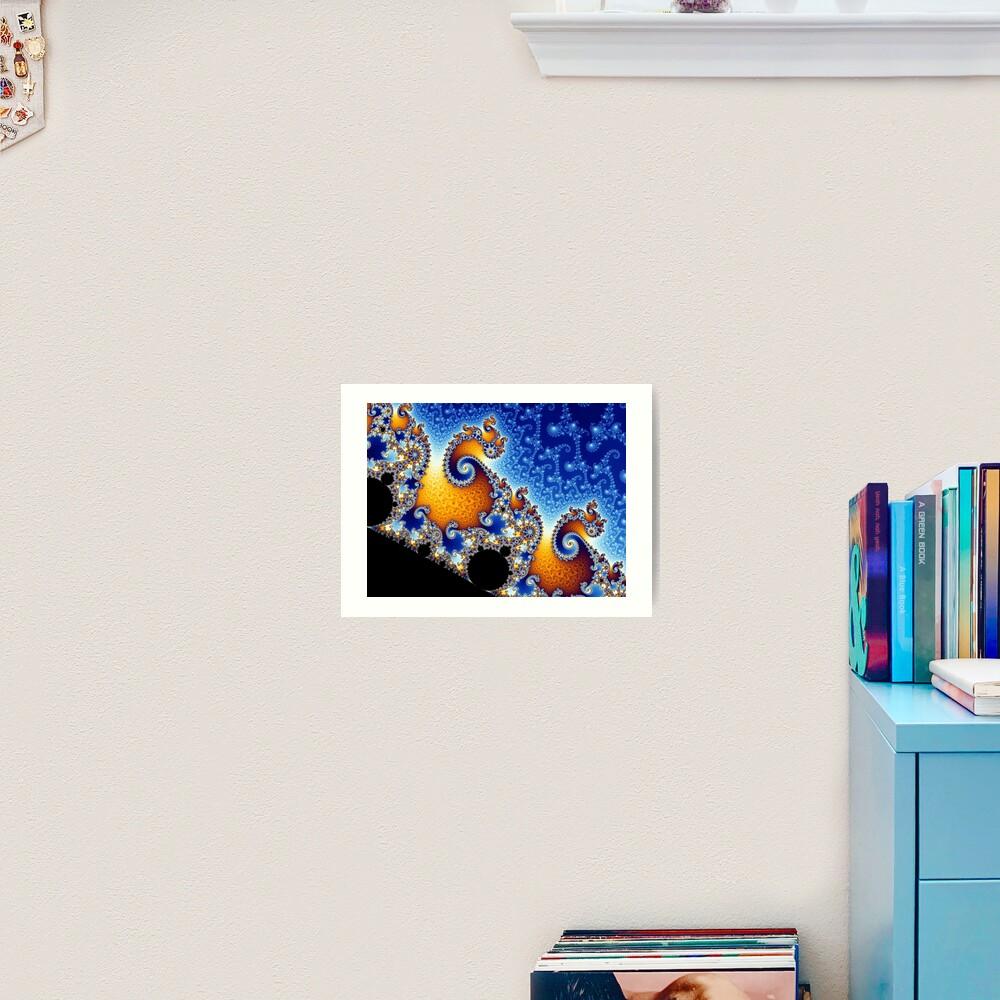 Mandelbrot set Art Print