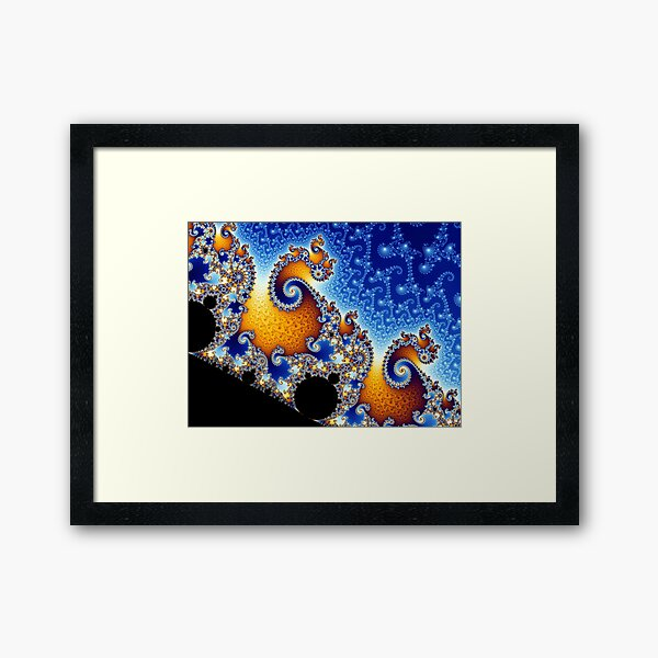 Mandelbrot set Framed Art Print