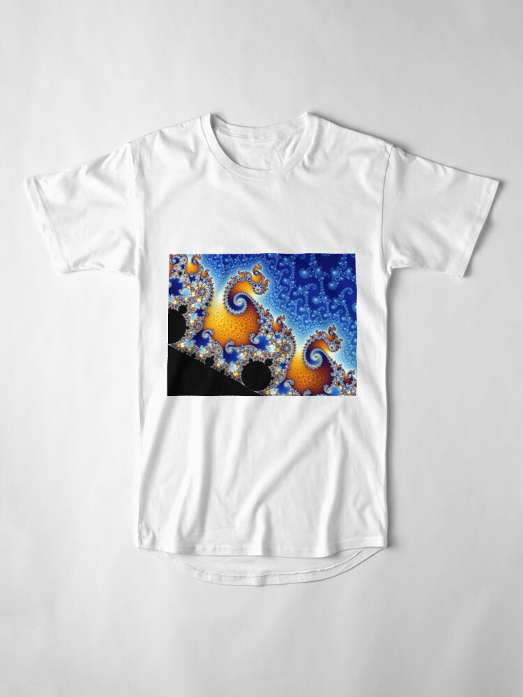 Alternate view of Mandelbrot set Long T-Shirt