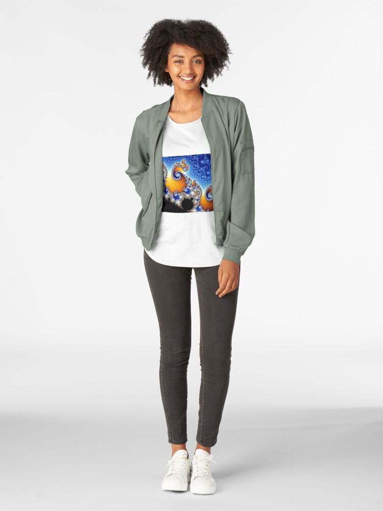 Alternate view of Mandelbrot set Premium Scoop T-Shirt