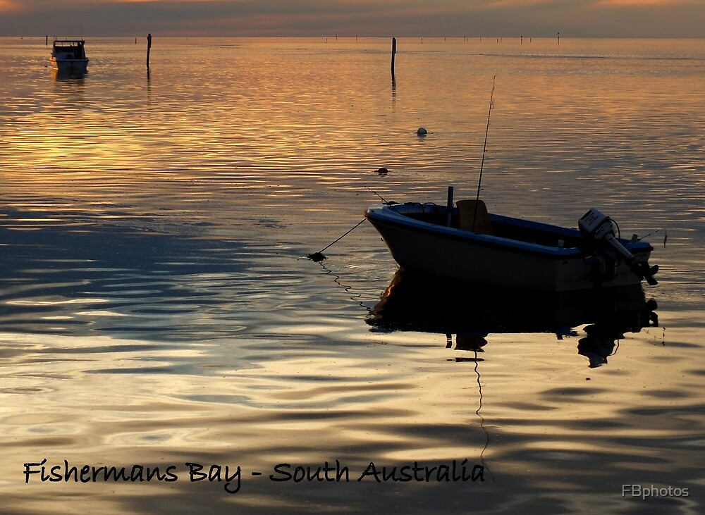 Boats at sunset by FBphotos