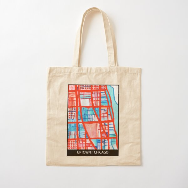 Uptown Chicago Cotton Tote Bag