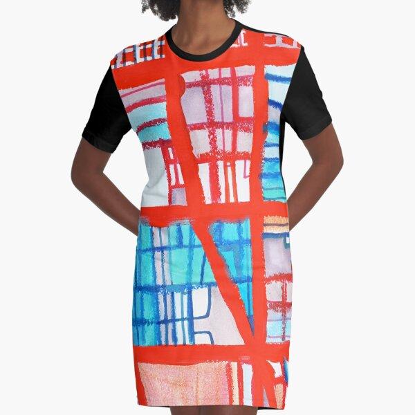 Uptown Chicago Graphic T-Shirt Dress