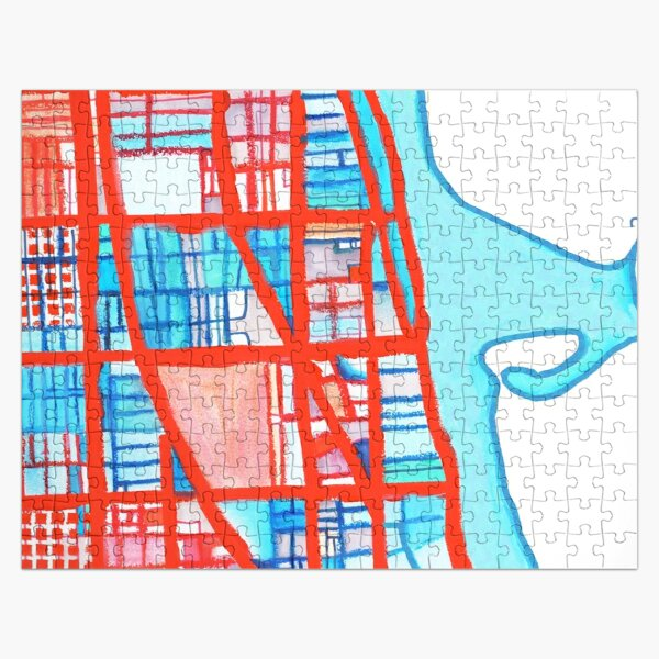 Uptown Chicago Jigsaw Puzzle