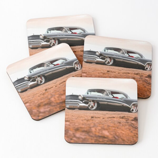 Adam Cleary's 1957 Buick Special Coasters (Set of 4)