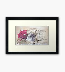 A Study in Pink - Sherlock Framed Print