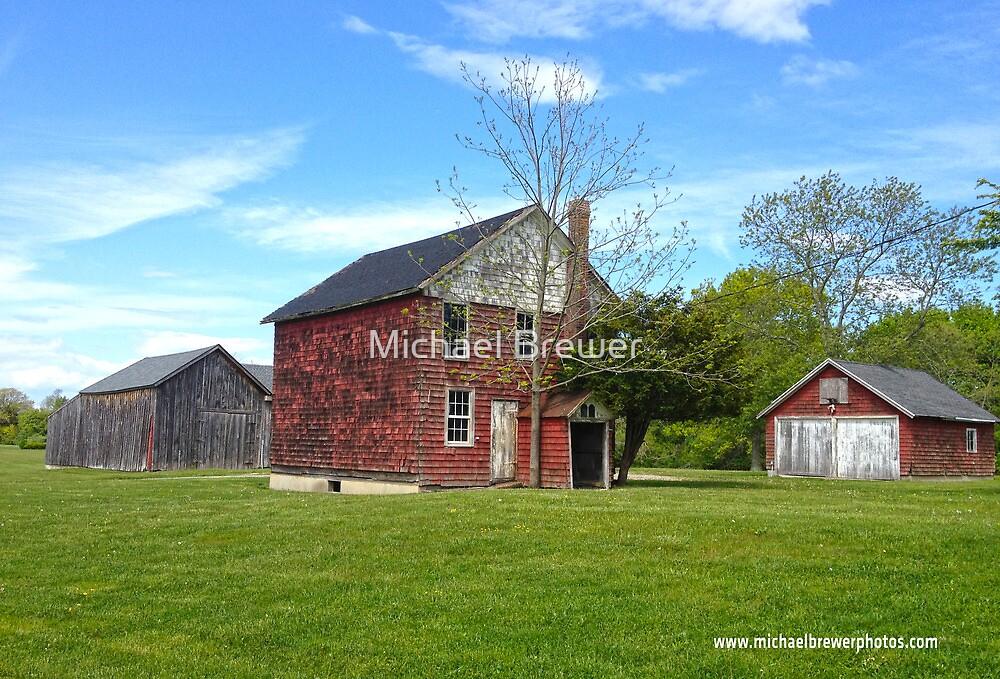 Red Barns near Jamesport by Michael Brewer