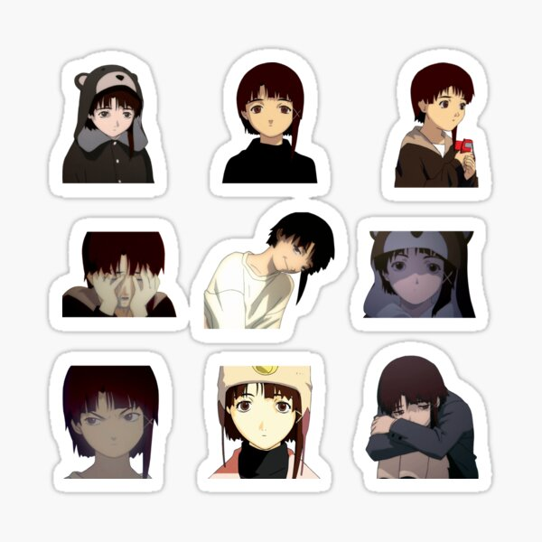 Lain Sticker-Pack Sticker