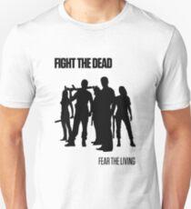 Fight the Dead T-Shirt [Black Stencil] Unisex T-Shirt