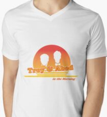 Troy and Abed in the Morning Men's V-Neck T-Shirt