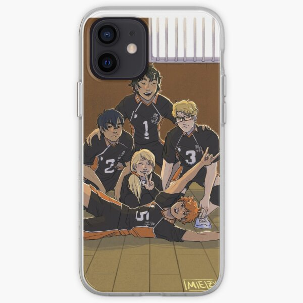 Karasuno Third Years | HAIKYUU FANART iPhone Soft Case
