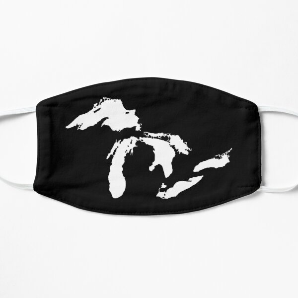The Great Lakes Flat Mask
