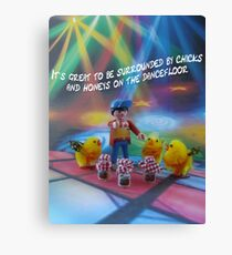 Chicks and honeys on the dancefloor Canvas Print