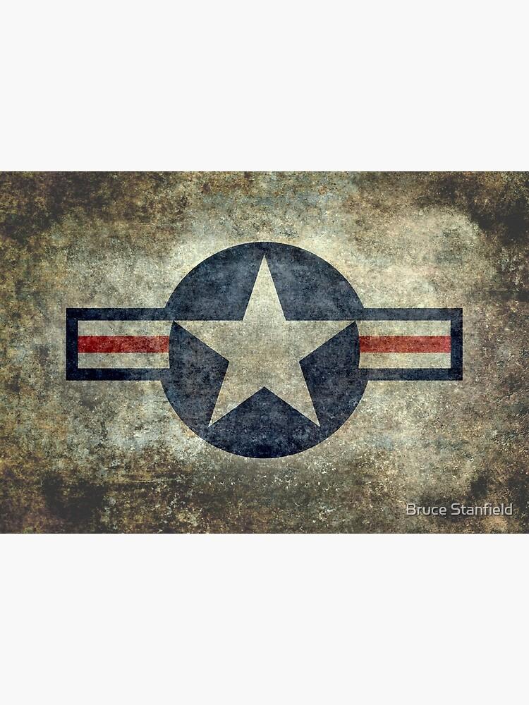 Vintage USAF Roundel symbol by Bruiserstang