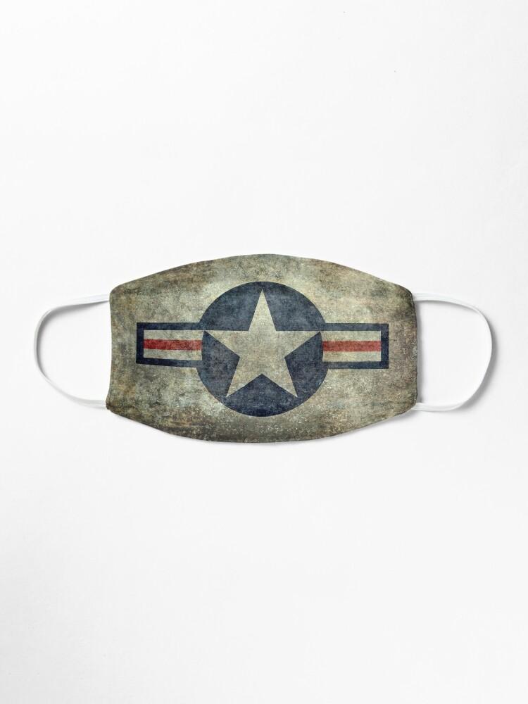 Alternate view of Vintage USAF Roundel symbol Mask