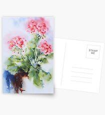 Geranium Postcards