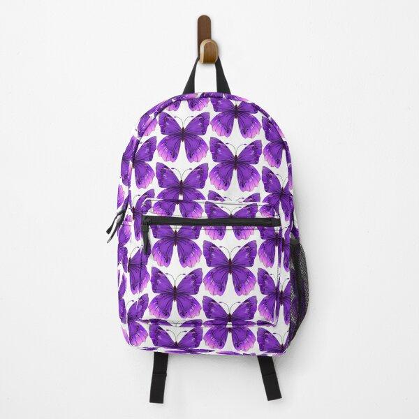 Purple Butterfly Wings Backpack