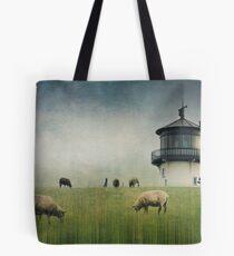 "Lighthouse ""Dicke Berta"" Tote Bag"