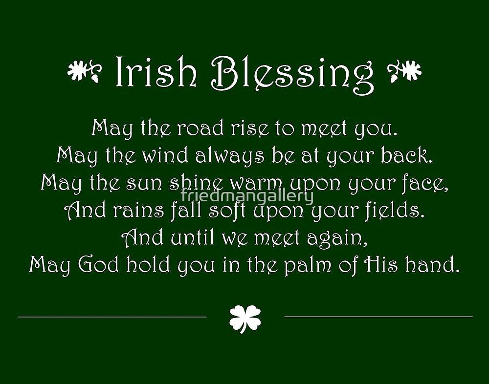 Irish Blessing by friedmangallery