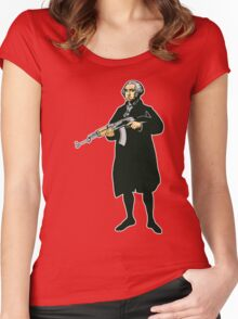 George Washington Women's Fitted Scoop T-Shirt