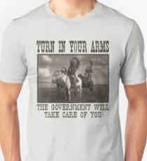 Tournez dans vos bras T-shirt unisexe