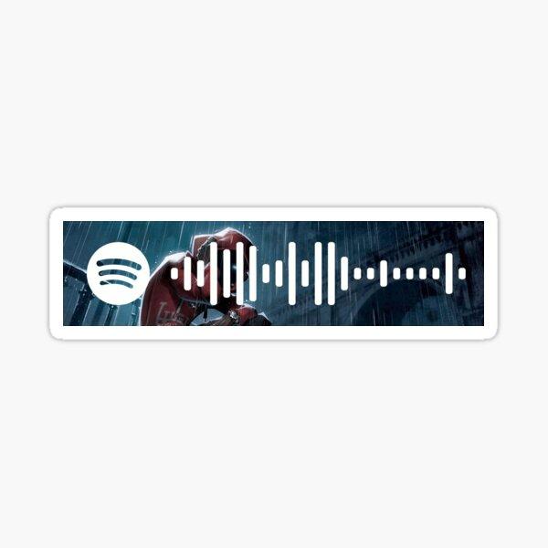 Hoodie SZN - Spotify Code Sticker