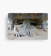 The Fremont Troll, Seattle, WA Canvas Print