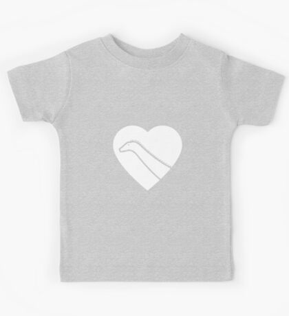 Dinosaur heart: Diplodocus Kids Clothes