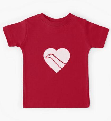 Dinosaur heart: Diplodocus Kids Clothes