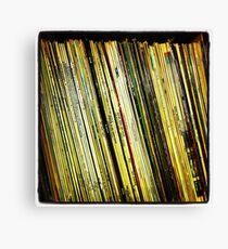 Vinyl - Instagram Canvas Print