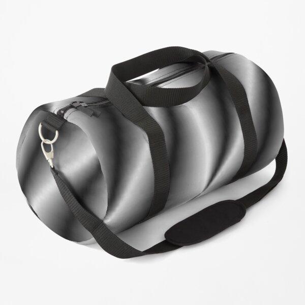 Monochrome lines Duffle Bag