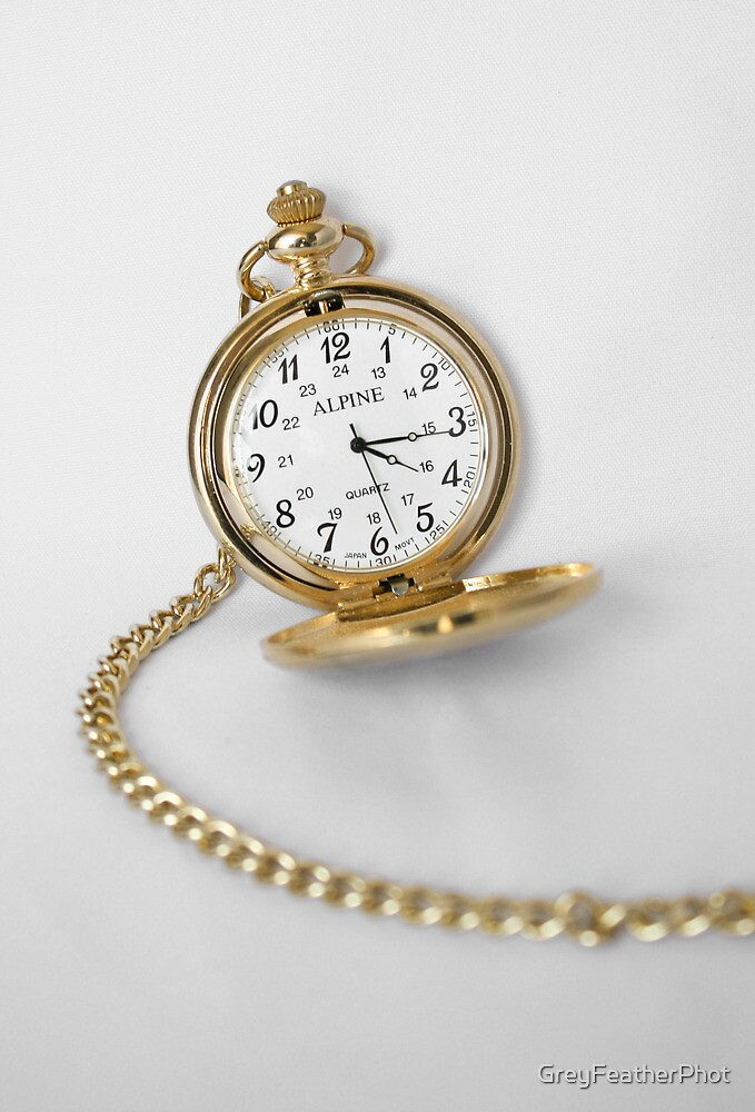Pocket Watch by GreyFeatherPhot