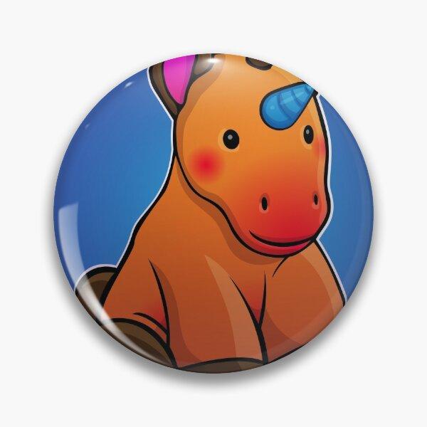 Ponycorn Portrait Pin