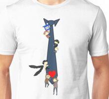 SuperWhoLock Tie Unisex T-Shirt