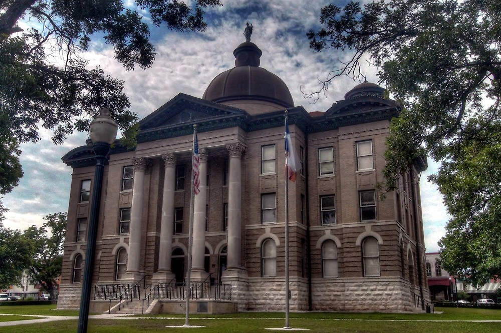 Hays County Courthouse by Terence Russell