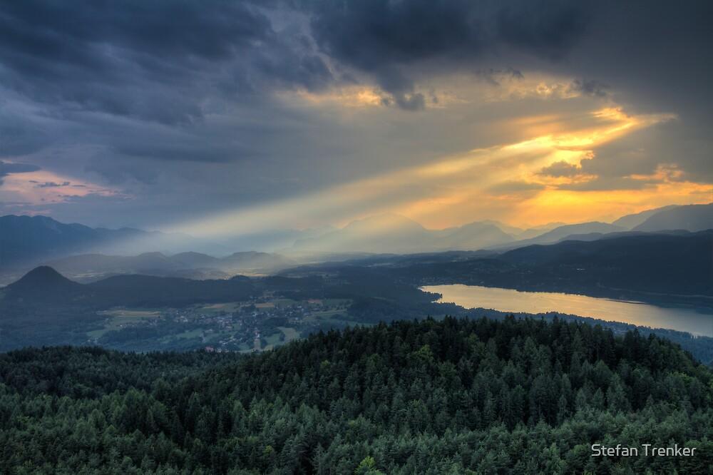 When the sun goes down by Stefan Trenker