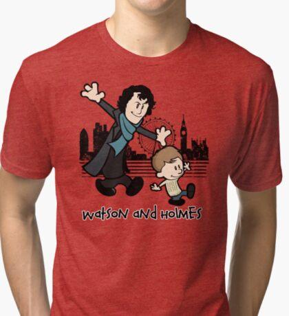 Watson and Holmes  Tri-blend T-Shirt
